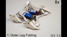 Video «Origami-Roboter: So baut er sich auf» abspielen
