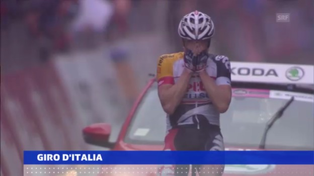 Video «Giro d'Italia 7. Etappe («sportaktuell»)» abspielen
