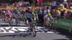 Video «Rad: Tour de France, 7. Etappe, Livarot - Fougères» abspielen