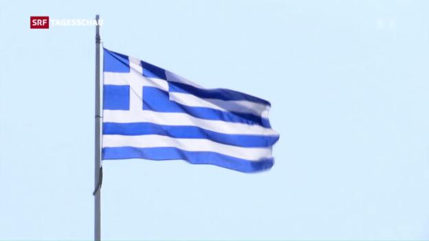 Video «Griechenland braucht neues Geld» abspielen