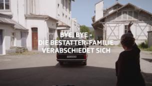 Video «Abschiedsvideo «Der Bestatter»» abspielen