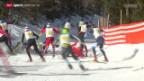 Video «Langlauf: Engadiner Skimarathon» abspielen