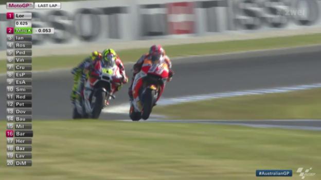 Video «Motorrad: GP Australien auf Phillip Island, Entscheidung MotoGP» abspielen