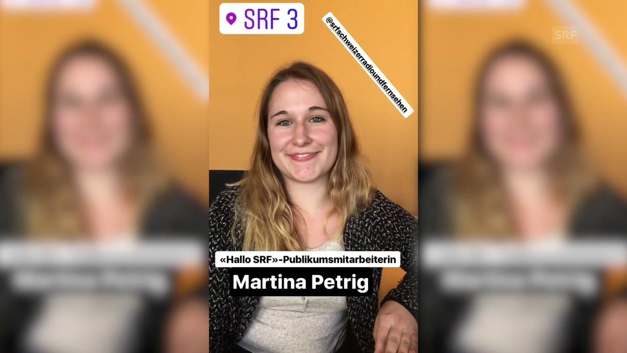 «HalloSRF!»-Publikumsmitarbeiterin Martina Petrig bei Radio SRF 3