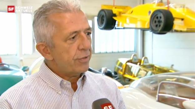 Video «Luftdruckauto: Experte bezweifelt Erfolgsrezept» abspielen