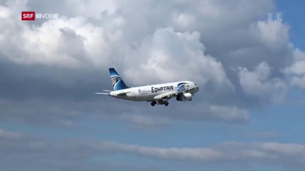 Video «Flugzeugabsturz der Egypt Air» abspielen