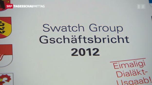 Video «Swissness ist bei Swatch Trumpf» abspielen