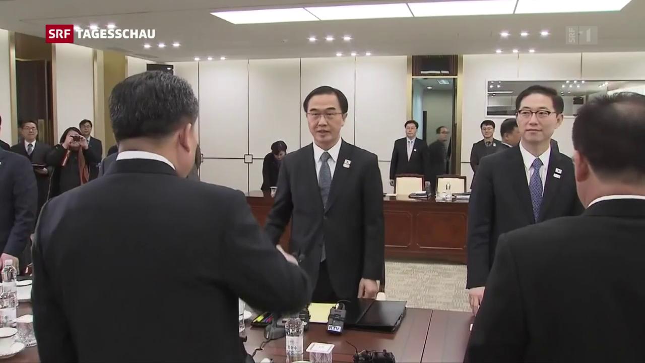 Nordkorea schickt Delegation zu Olympia nach Südkorea