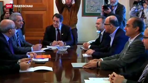 Video «Zypern sucht Plan B» abspielen