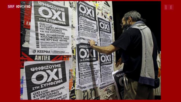 Video «FOKUS: Griechenland im Abstimmungskampf» abspielen