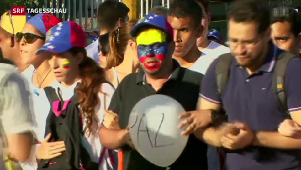 Studenten wollen Maduros Rücktritt