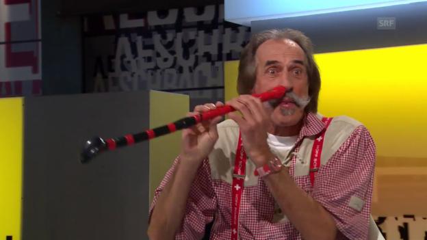 Video «Zu Gast bei Aeschbacher: «Trompeten-Sigi»» abspielen