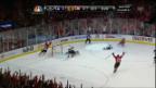 Video «Eishockey: Patrick Kanes Hattrick gegen Los Angeles» abspielen