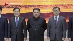 Video «Nord- und Südkorea kündigen Gipfeltreffen an» abspielen