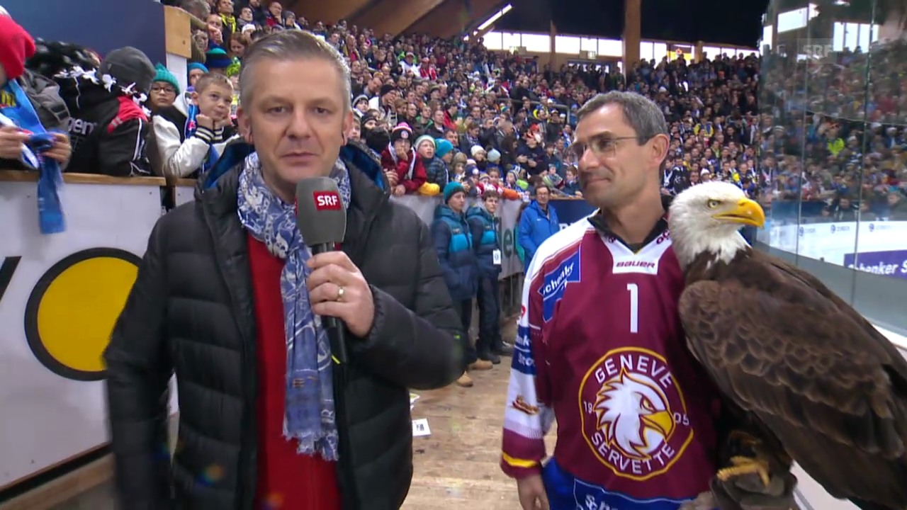 Eishockey: Spengler Cup, «Achtung, fertig, Salzi» («sportlive», 28.12.2013)