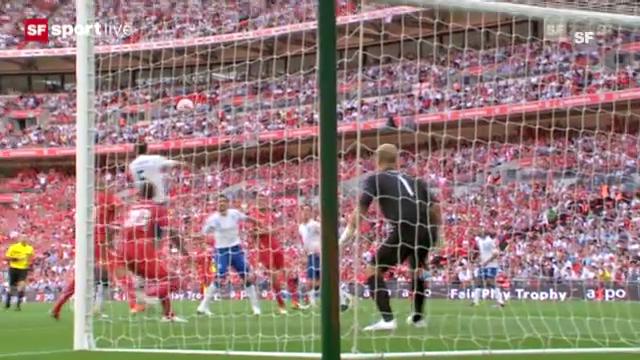 Fussball: Tranquillo Barnettas Freistoss-Treffer gegen England 2011 («sportlive»)