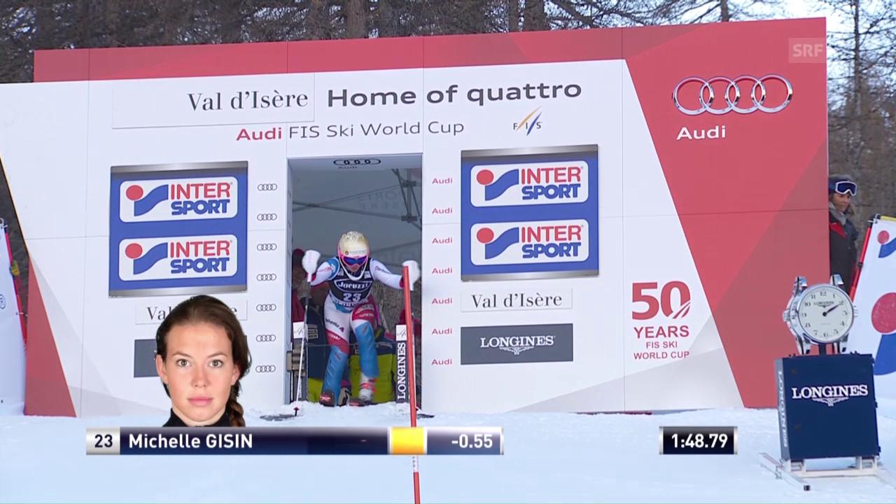 Der furiose Slalomlauf von Michelle Gisin