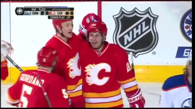 Highlights Calgary Flames - Edmonton Oilers
