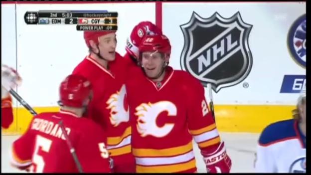 Video «Highlights Calgary Flames - Edmonton Oilers» abspielen