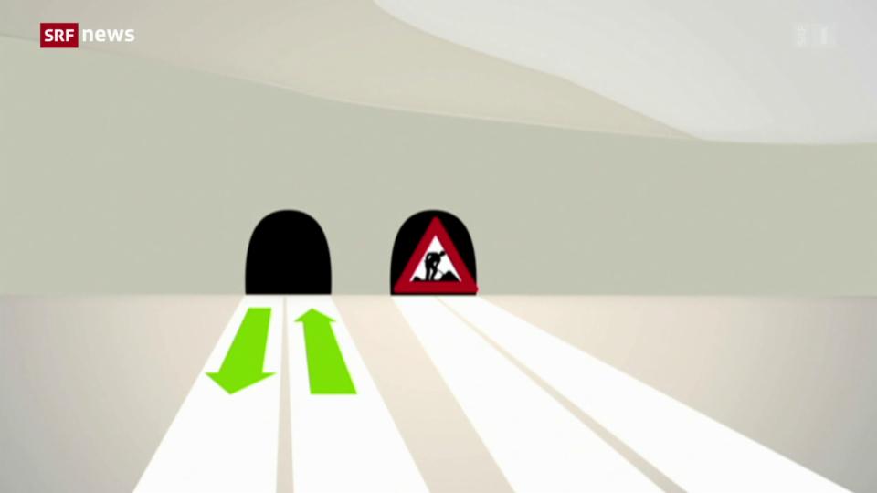 So wird am Gotthard gebaut