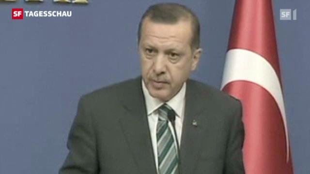 Spannung im Grenzkonflikt zwischen Syrien und der Türkei