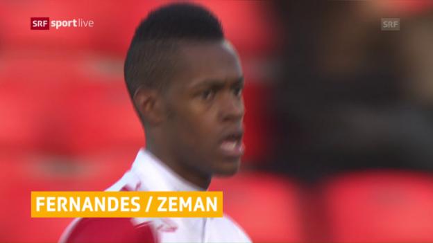 Video «Edimilson und Zeman verlassen Sion» abspielen
