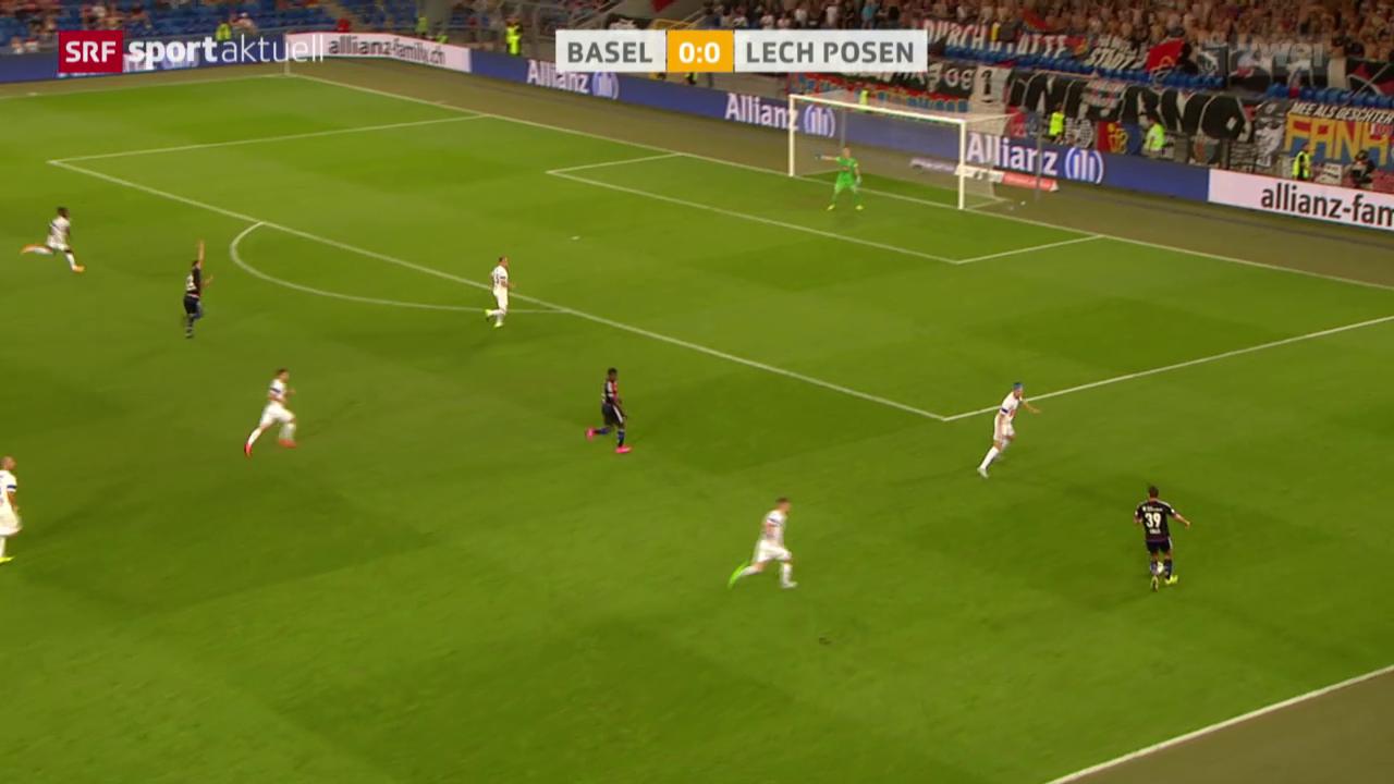 Fussball, CL: FC Basel - Lech Posen