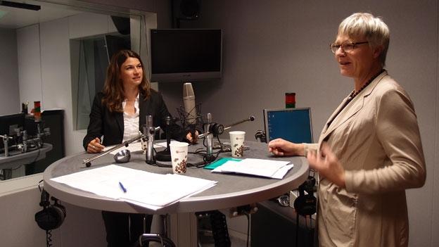 Debatte von Nadja Pieren (SVP) und Rosmarie Quadranti (BDP)