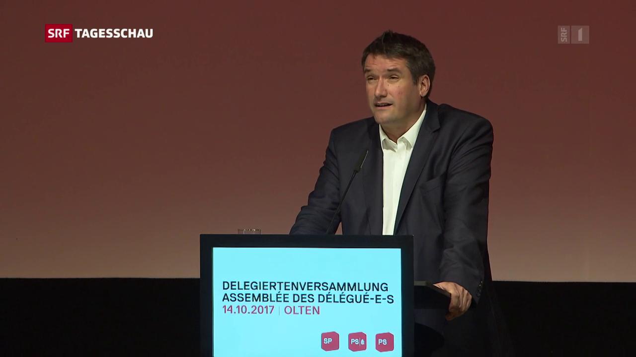 SP-Delegiertenversammlung: Levrat rügt Parteilinke