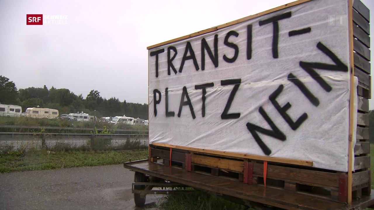 Infoanlass über Transitplatz abgeblasen