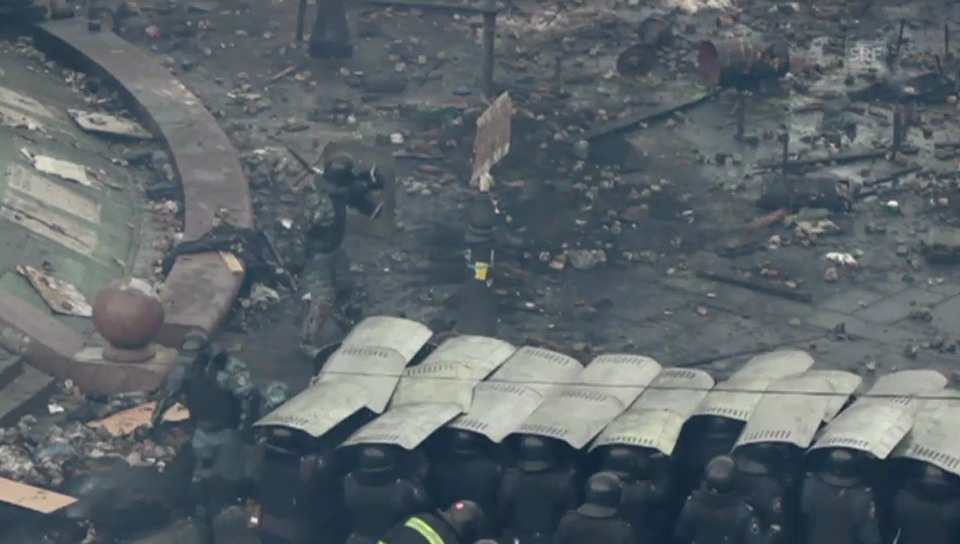 Konfrontation in Kiew dauert an