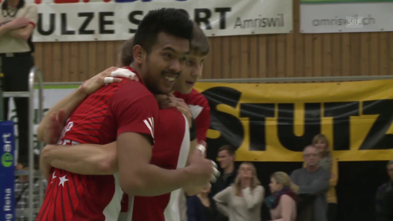 Volleyball: Pre-Playoff Amriswil-Lugano Highlights