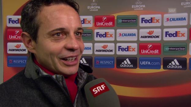 Video «Heusler will einen deutschen Gegner, «aber nicht gerade Dortmund»» abspielen