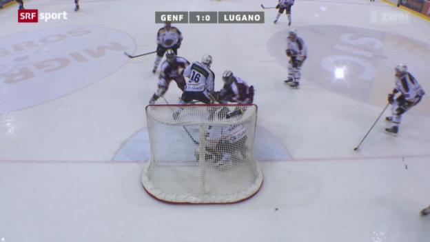 Video «Eishockey: Genf-Servette - Lugano» abspielen