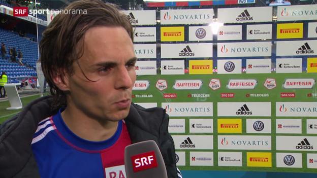 Video «Fussball: Reaktionen zu Basel - GC» abspielen