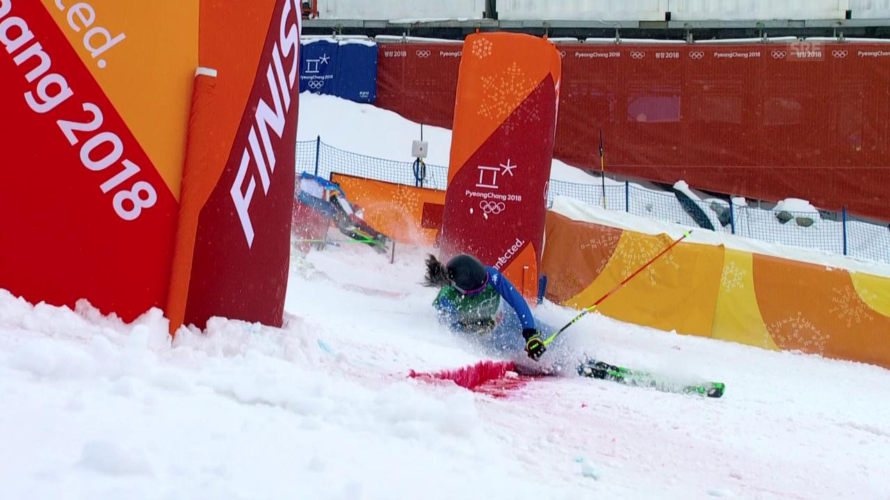 Italienische Skicrosserin stürzt in die nächste Runde