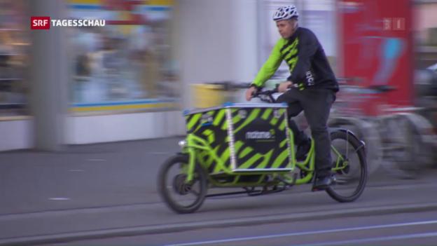 Video «Eben erst bestellt und schon geliefert» abspielen