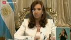 Video «Argentinien gerät finanziell unter Druck» abspielen