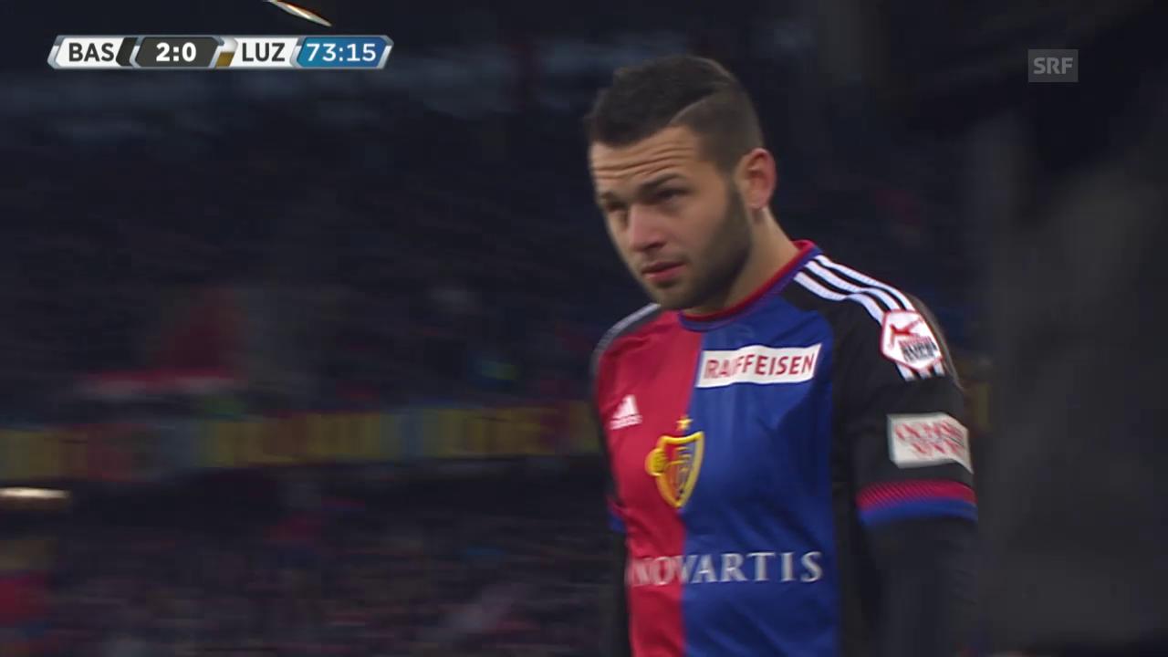 Das Debüt von Renato Steffen im FCB-Trikot