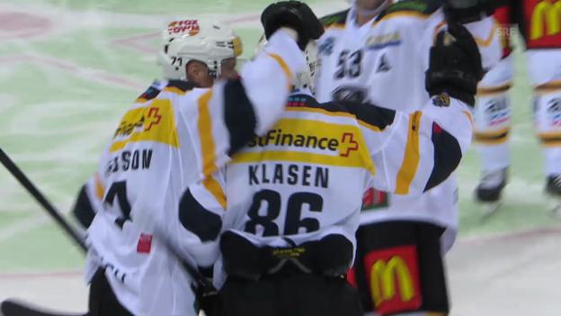 Video «Eishockey: Klasen/Pettersson - Luganos Traumduo» abspielen
