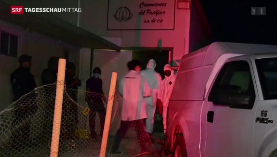 60 Leichen in Mexiko gefunden