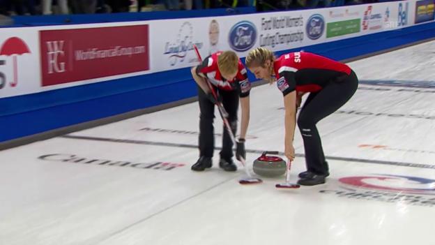Video «Schweizerinnen gewinnen die Vorrunde» abspielen