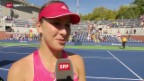 Video «US Open: Interview Bencic» abspielen