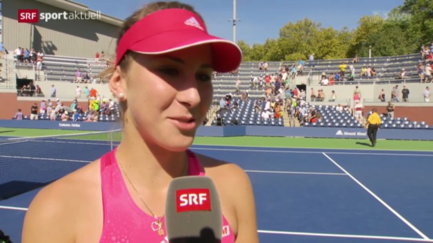 Video «US Open: Interview Bencic» abspielen