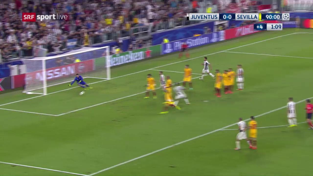 Die Live-Highlights bei Juventus - Sevilla
