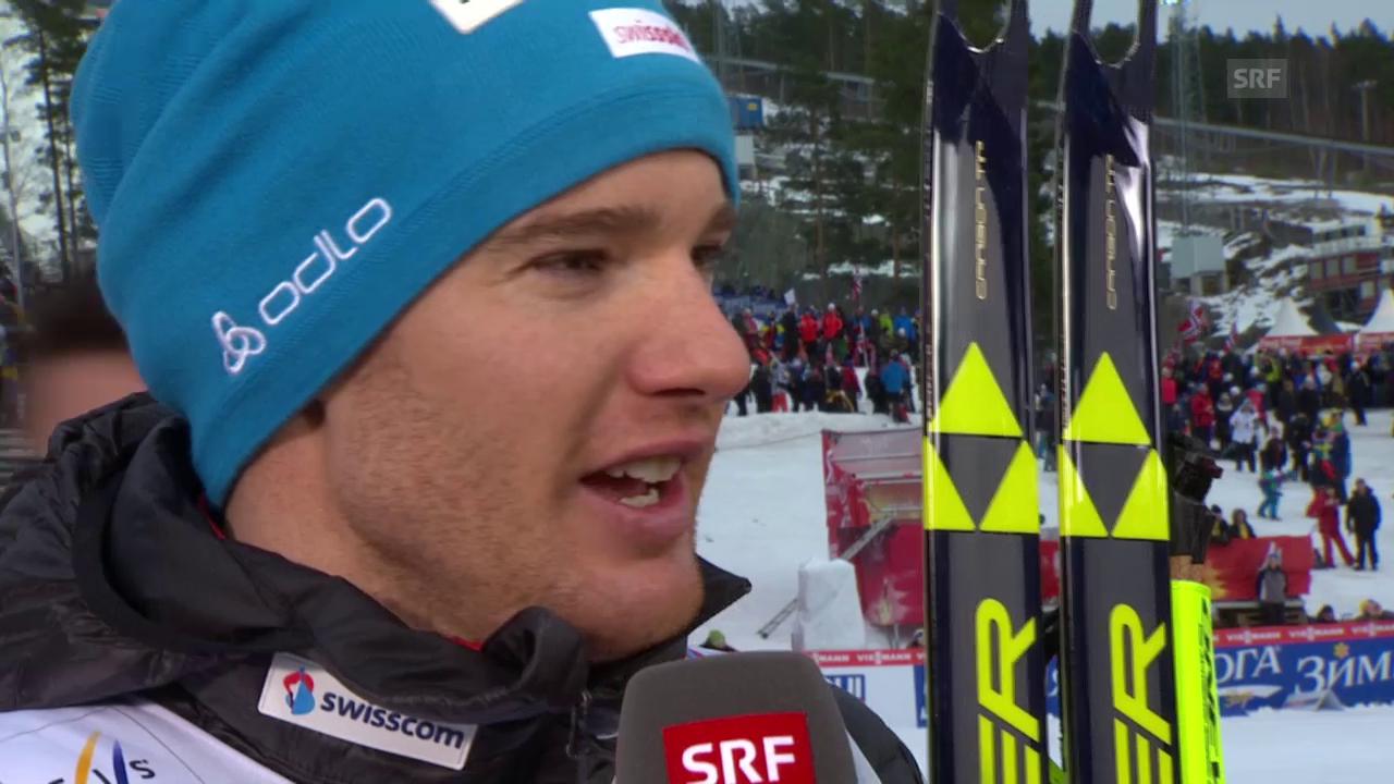 Langlauf: Nordisch-WM in Falun, Interview mit Dario Cologna