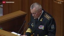 Video «Der ukrainische Verteidigungsminister nimmt den Hut» abspielen