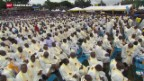 Video «Papst Franziskus begeistert in Kenia» abspielen