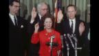 Video «Shirley Temple bei ihrer Inauguration als UN-Delegierte» abspielen