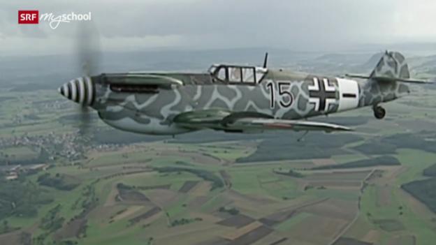 Video «Luftkampf über der Schweiz» abspielen